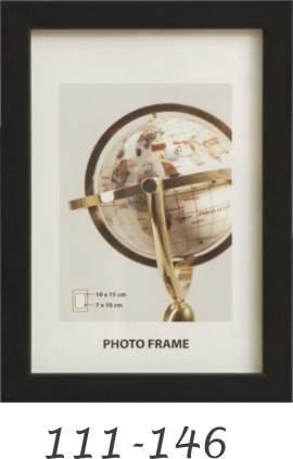 Fa képkeret 111 lécprofil fekete 111-146
