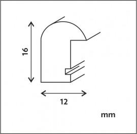 Fa képkeret 180 lécprofil csomagos kiszerelés